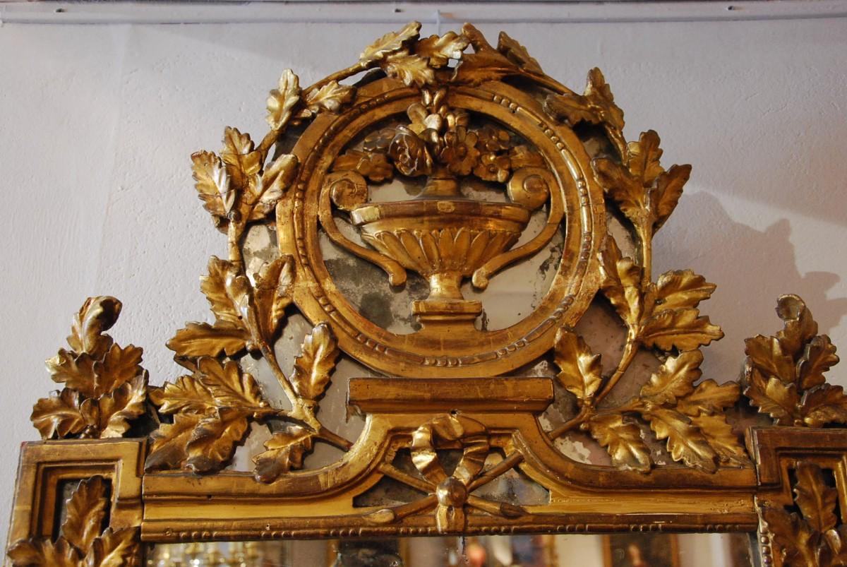 Antiquit s paul azzopardi miroir pare close d poque for Miroir french to english