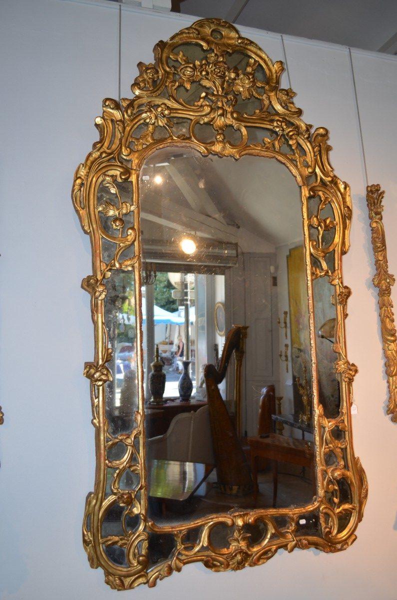 Antiquit s paul azzopardi miroir d poque r gence en for Miroir french to english